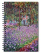 The Artists Garden At Giverny Spiral Notebook