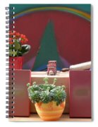 The Artists Studio Spiral Notebook