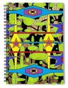 The Arts Of Textile Designs #28 Spiral Notebook