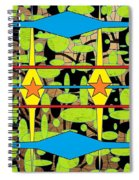 The Arts Of Textile Designs #3 Spiral Notebook