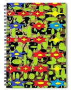 The Arts Of Textile Designs #42 Spiral Notebook