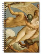 The Ascension Of Virtue Spiral Notebook