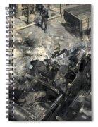 The Assassination Of Reinhard Heydrich Spiral Notebook