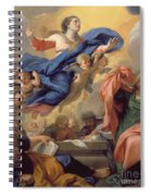 The Assumption Of The Virgin Spiral Notebook