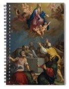 The Assumption Of The Virgin Spiral Notebook