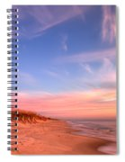 The Atlantic Coast At Sunrise Spiral Notebook