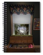 The Attic Window Spiral Notebook