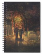 The Autumn Of Our Life Spiral Notebook