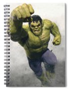 The Avengers Age Of Ultron 2015 21 Spiral Notebook