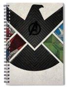 The Avengers Spiral Notebook