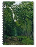 The Avenue Of Chestnut Trees Spiral Notebook