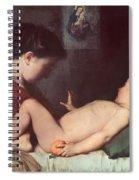 The Awakening Child Spiral Notebook