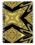The Aztec Golden Treasures Spiral Notebook