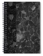 The B And W Wall Spiral Notebook