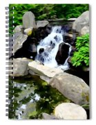 The Babbling Brook Spiral Notebook