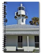 The Back Of The Lighthouse Spiral Notebook
