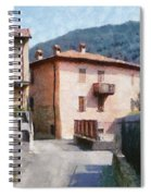 The Back Street Towards Home Spiral Notebook