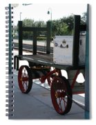 The Baggage Cart And Truck Spiral Notebook