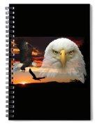The Bald Eagle Spiral Notebook