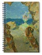 The Ballet Dancer Spiral Notebook