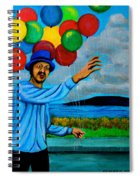 The Balloon Vendor Spiral Notebook