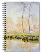 The Banks Of The River Epte At Giverny Spiral Notebook