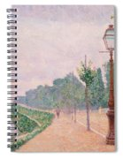 The Banks Of The Seine At Neuilly 1886 Spiral Notebook