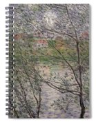 The Banks Of The Seine Spiral Notebook