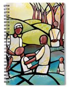 The Baptism Spiral Notebook