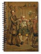 The Barber Spiral Notebook