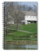 The Barn Along The Tulpehocken Spiral Notebook