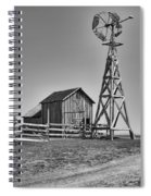 The Barn And Windmill Spiral Notebook