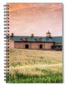 The Barn II Spiral Notebook