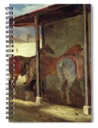The Barn Of Marechal-ferrant Spiral Notebook