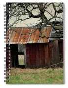 The Barn Out Back Spiral Notebook