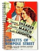 The Barretts Of Wimpole Street Spiral Notebook