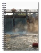 The Barton Lake Dam Spiral Notebook