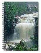 The Base Of Angel Falls In Canaima National Park Venezuela Spiral Notebook