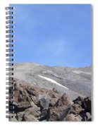 The Base Of Mt St Helens  Spiral Notebook