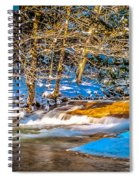 The Basin At Franconia Notch Spiral Notebook
