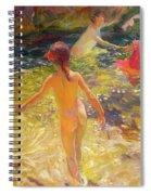 The Bath - Javea Spiral Notebook