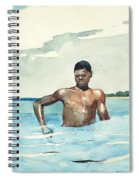 The Bather, 1899 Spiral Notebook