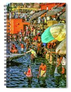The Bathing Ghats Spiral Notebook