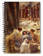 The Baths Of Caracalla Spiral Notebook