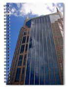 The Batman Building Nashville Tn Spiral Notebook