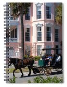 The Battery In Charleston Spiral Notebook