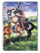 The Battle Of Bannockburn Spiral Notebook