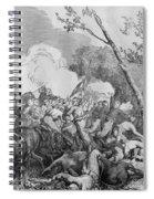 The Battle Of Bull Run Spiral Notebook