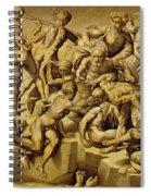 The Battle Of Cascina Spiral Notebook