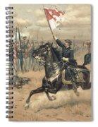 The Battle Of Cedar Creek Virginia Spiral Notebook
